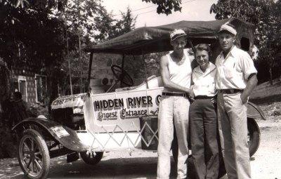 Hidden River Cave Car