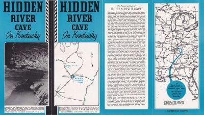 Historic Hidden River Cave Brochure (front)