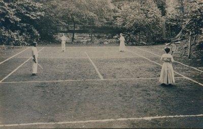 Tennis Court at Hidden River Cave