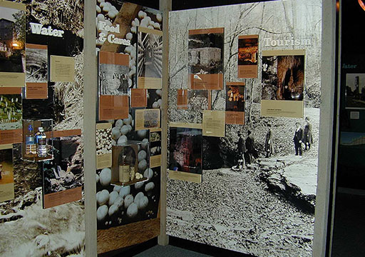 American Cave Museum-Many Uses of Caves Exhibits (photo by Jim Nieland)